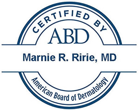 Dr. Ririe ABD Certified